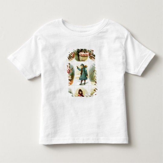 Christmas cards toddler t-shirt