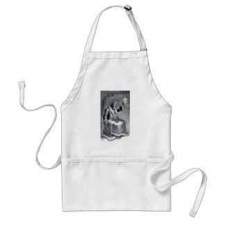 christmas carol adult apron