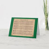 Christmas Carol: Around the Christmas Tree Holiday Card