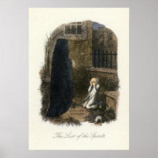 Christmas Carol - Ghost of Christmas Yet to Come Print
