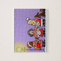 Christmas Carol Jigsaw Puzzle