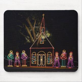 Christmas Carol Lights 2016 Mouse Pad