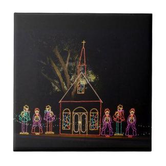 Christmas Carol Lights 2016 Tile