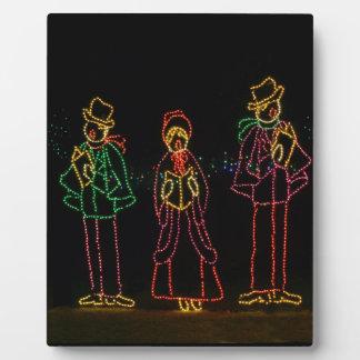 Christmas Carol Lights 2 2016 Plaque