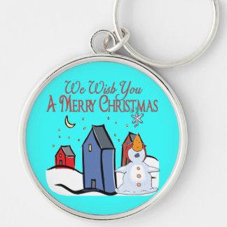 Christmas Carol Series Keychain