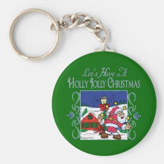 Christmas Carol Series Keychains