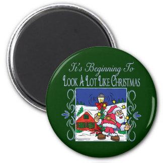 Christmas Carol Series Magnet