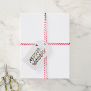 Singing cats gift card for christmas