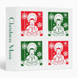 Christmas Caroler Binder
