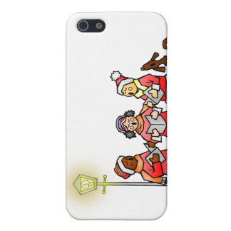 Christmas Carolers Cases For iPhone 5