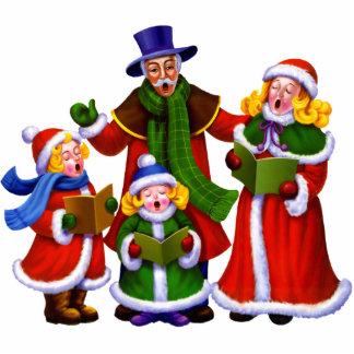 Christmas Carolers Photo Sculpture