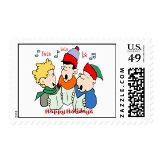 Christmas Carolers Postage