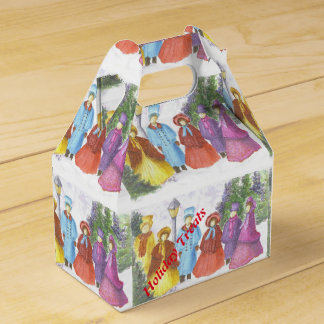 CHRISTMAS CAROLERS TREAT BOX