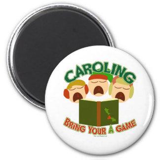 Christmas Caroling Magnet