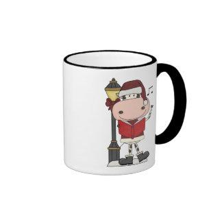 Christmas Carols - Cow Coffee Mug