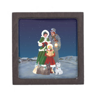 Christmas Carols Jewelry Box