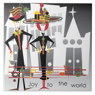 Christmas Carols Joy Tile