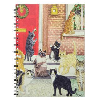 Christmas Carols Note Book