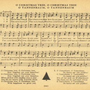 O Tannenbaum Songtext.Christmas Song Wrapping Paper Zazzle