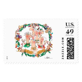CHRISTMAS CAROLS Postage Stamps