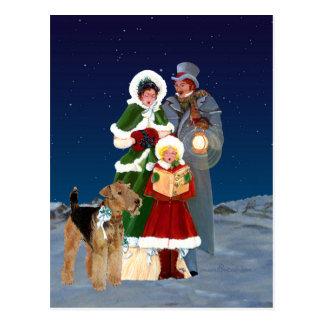 Christmas Carols Postcard