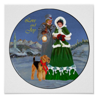 Christmas Carols Print