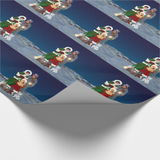 Christmas Carols Wrapping Paper