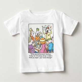 Christmas Cartoon about relatives. Tees