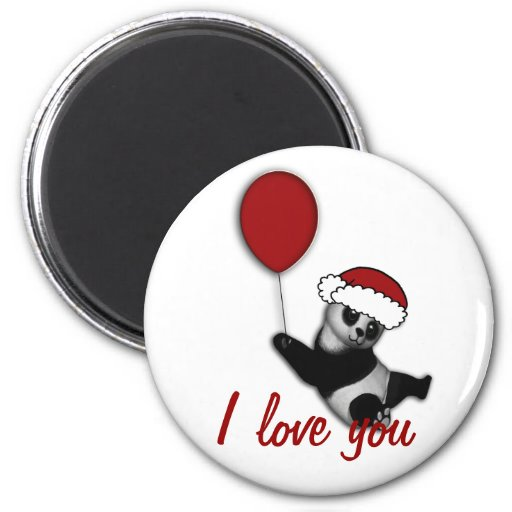 Christmas cartoon bear holiday stocking filler 2 inch round magnet