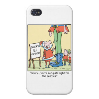 Christmas Cartoon  Elf  Audition iPhone 4/4S Case