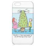 Christmas Cartoon Oversized Tree Case For iPhone 5C