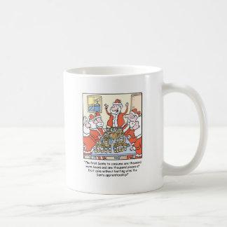 Christmas Cartoon Santa Apprenticeship Coffee Mug