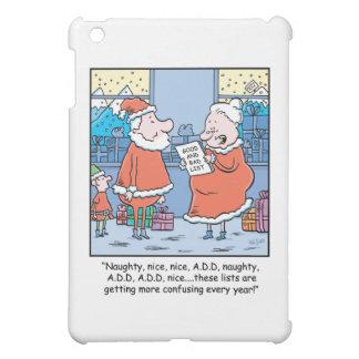 Christmas Cartoon Santa's Good and Bad list. Case For The iPad Mini