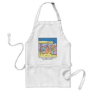 Christmas Cartoon Three Wise Kings Computer Games Aprons
