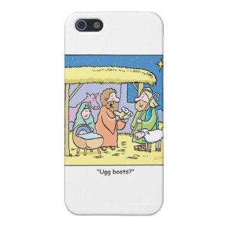 Christmas Cartoon Ugg Boots iPhone SE/5/5s Case