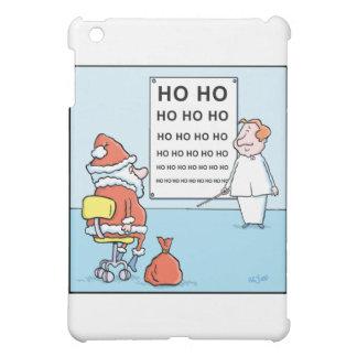 Christmas Cartoons Santas Eye Test iPad Mini Covers