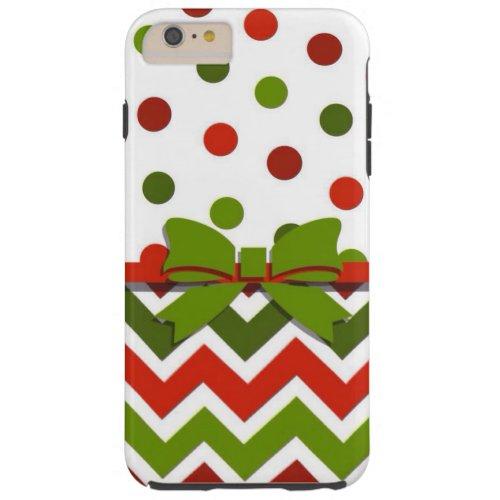 christmas tough iPhone 6 plus case