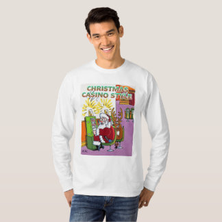 Christmas Casino Style long sleeve shirt