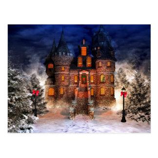 Christmas Castle Postcard
