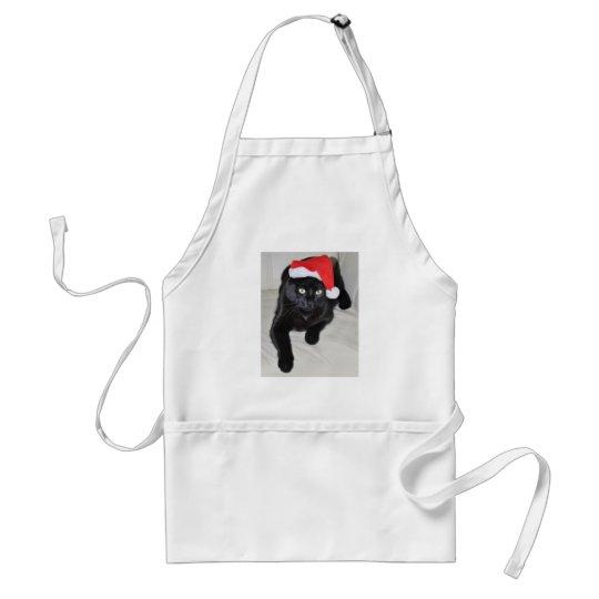 Christmas cat #5 adult apron