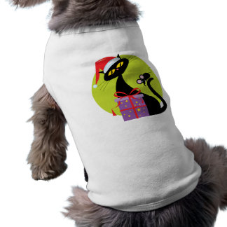 Christmas Cat and Mouse Dog T Shirt
