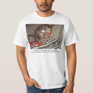 Christmas Cat Attack T-Shirt