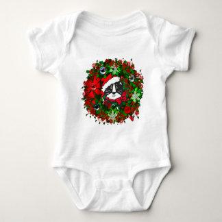 Christmas Cat Baby Bodysuit