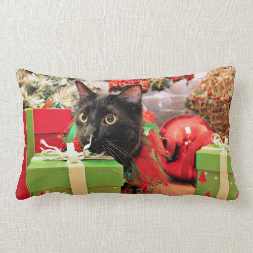Christmas - Cat - Bentley Pillows