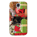 Christmas - Cat - Bentley Samsung Galaxy S4 Covers