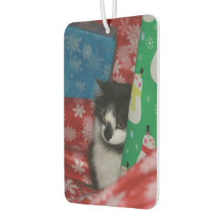 Christmas Cat Car Air Freshener