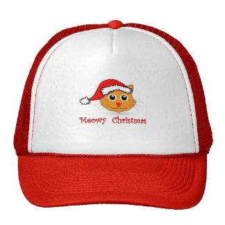Christmas Cat Christmas T Shirt Trucker Hat