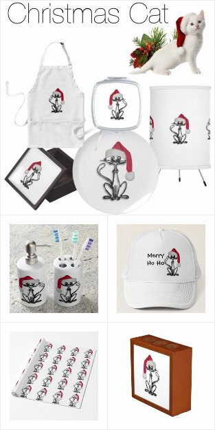 Christmas Cat Design Gifts