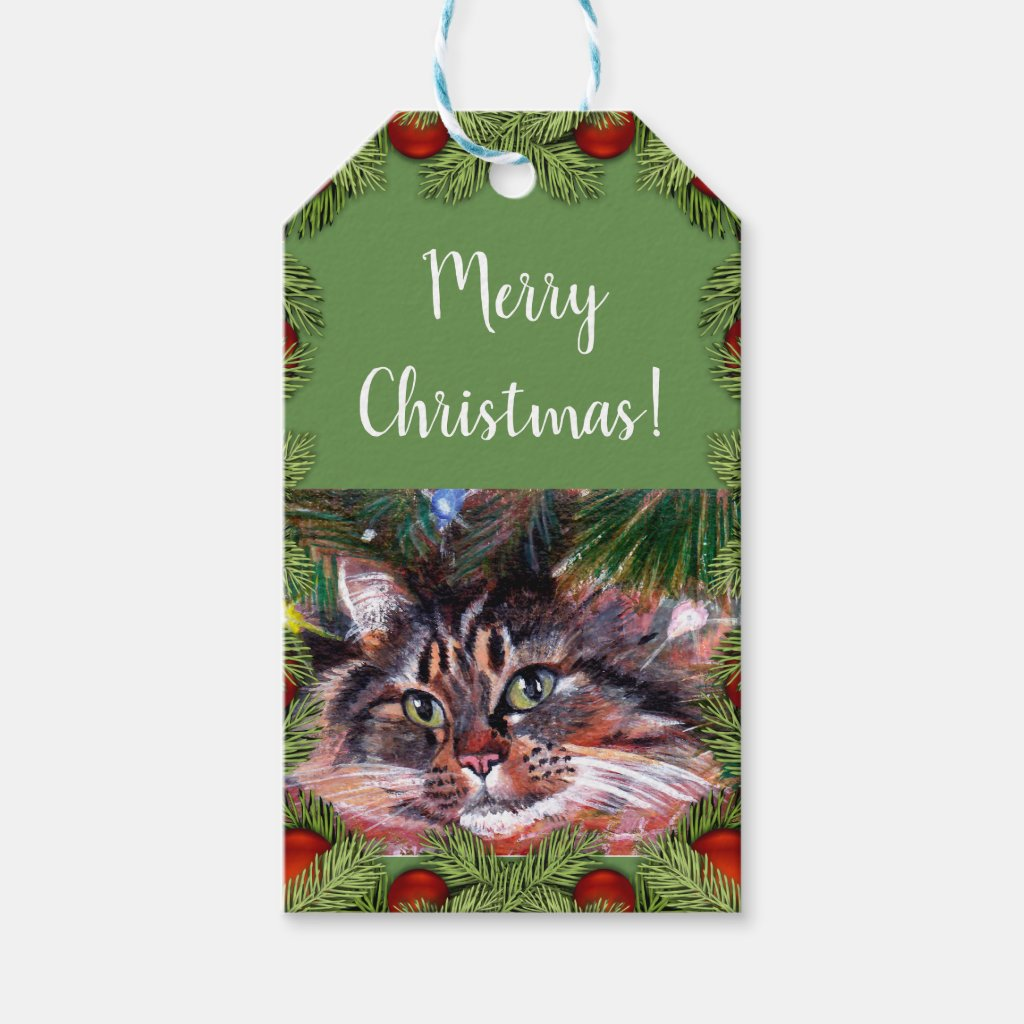 Christmas Cat Gift Cards