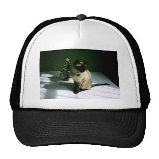 Christmas Cat Trucker Hat